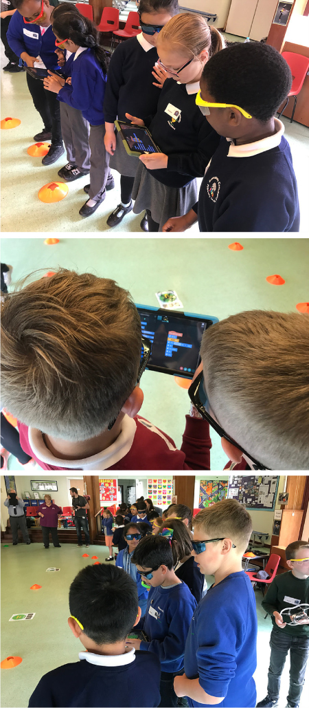 DRONE Days in action at schools across the UK.